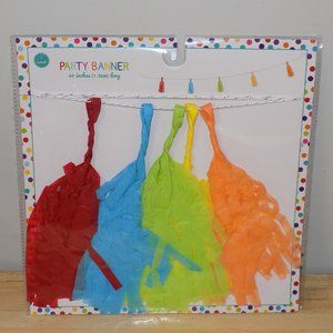 """Party Banner Paper Tassels Any Occasion 60"""" Length"""